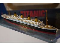 Titanic scale model as new