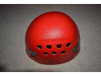 Petzl Ecrin Roc climbing helmet. 53-63cms. Very good condition, used once.
