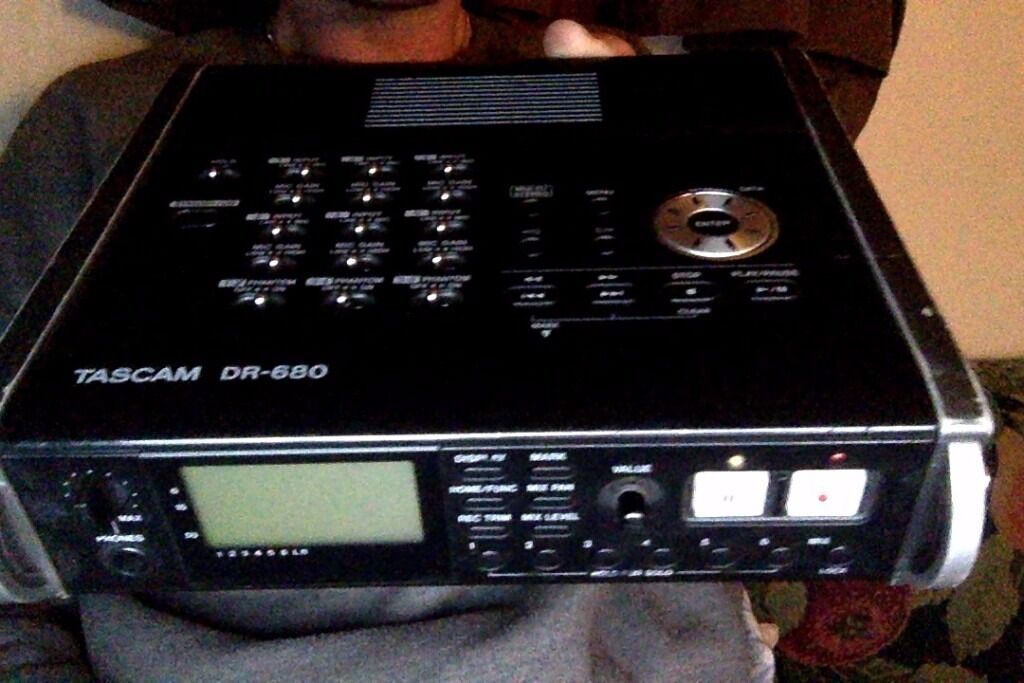 fully functional but well used tascam dr680, can test before purchasein Brentford, LondonGumtree - TASCAM DR 680 DIGITAL 8 TRACK AUDIO RECORDER 6 INPUTS INCLUDING XLR (PHANTOM POWER) STUDIO QUALITY AUDIO RECORDER FULLY WORKING CHECK ON GOOGLE MINIMUM OF $500 plus import tax is $1000 given the condition isnt perfect but its does its job some scuffs...