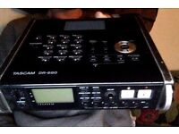 fully functional but well used tascam dr680, can test before purchase