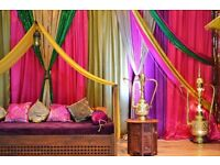 Tempting Occasions Wedding Decor Mehndi Bollywood Stages Centerpieces Moroccan Party Cupcakes