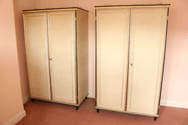MASCAGNI Wardrobes Vintage Italian Furniture 1950's