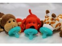 Soft Cozy Plush Toy Pacifier / Good Sleep