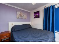 Double room in shared house fields DSS-JSA-ESA accepted no deposit needed