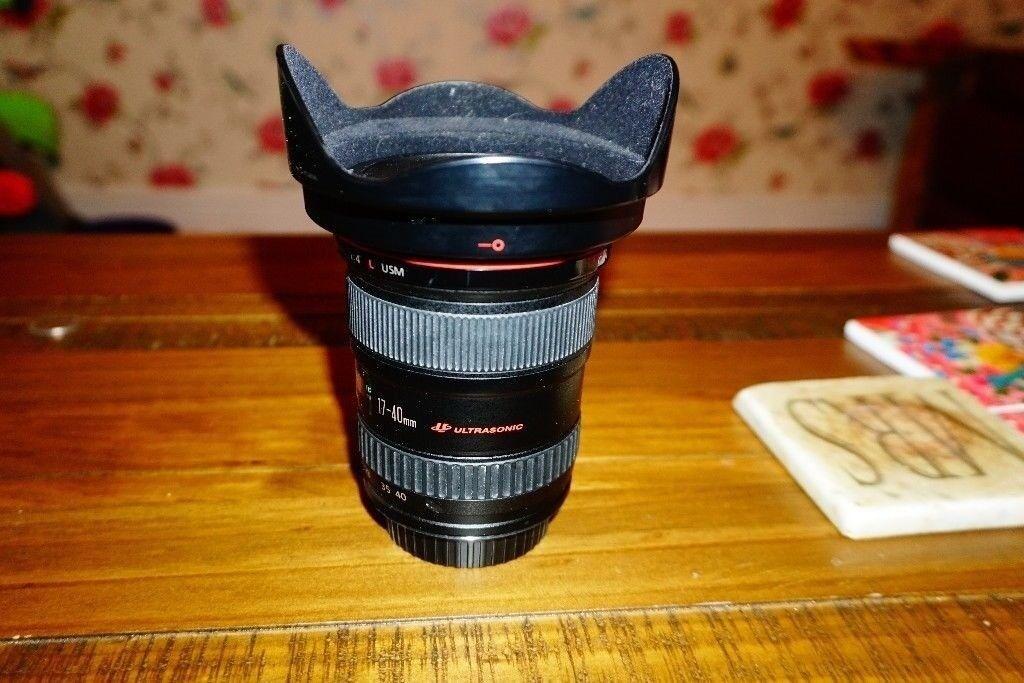 canon 17 40 f4l lens in hucknall nottinghamshire gumtree
