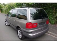 2005 Seat ALHAMBRA, 1.9 TDI, 7 SEATER, 1 OWNER FROM NEW, FULL HISTORY, like galaxy sharan