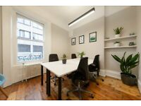 Bond Street W1K- 4 Person Office - Access to meeting rooms - Flexible Terms