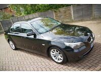 BMW 525d, 3.0L diesel, 197BHP, full MOT and FSH, Great Condition, B-tooth, leather, folding seats