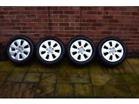 "Audi A3 Alloy Wheels 16"" with Dunlop Tyres"