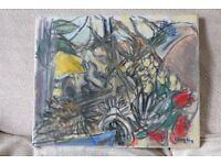 Original Andrew Lang Painting 'Still Life with Skulls'