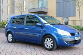 2007 Renault Grand Scenic 1.6 VVT Dynamique 5dr MANUAL, PETROL, 7 SEATS, 3M WARRANTY, PX WELCOME