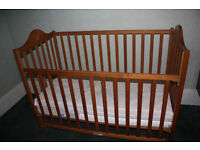 Mothercare Cot Bed with Mattress