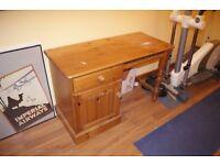 sturdy wooden desk
