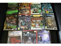 PC Hidden Object Game Discs - Cheap!!