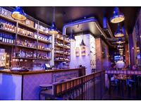 Based near Piccadilly Circus, American style Steak house is looking for a FOOD RUNNER and WAITER