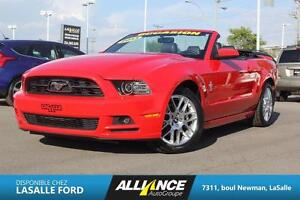 2013 Ford Mustang V6 Premium CONVERTIBLE / CUIR / Bluetooth / CA