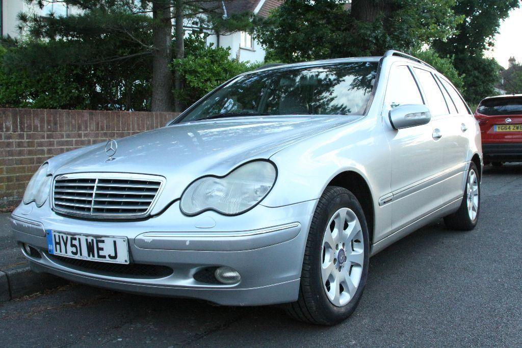 2001 mercedes c270 cdi elegance auto silver in addlestone surrey gumtree. Black Bedroom Furniture Sets. Home Design Ideas