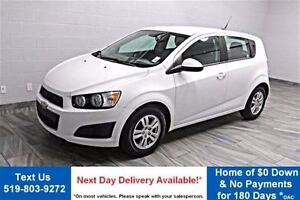 2012 Chevrolet Sonic LS HATCHBACK! BLUETOOTH! ALLOYS! AIR CONDIT