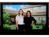 """50"""" L.G 50PJ550 HD TV WITH BUILT IN FREE VIEW IN GREAT CONDITION."""