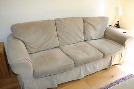 Ikea Ektorp 2 and 3 seater sofa