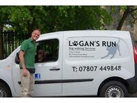 Logan's Run Dog Walker / Walking Services EST. 2013
