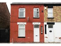 28 Alpha St, Bootle, Liverpool. 3 bed mid terrace with gas central heating & DG. LHA welcome