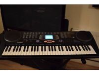 CASIO KEYBOARD 61 FULL SIZE KEYS WITH SCREEN/STAND/ POWER ADAPTER