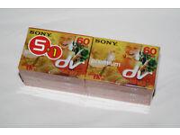40 x DV Tapes. 35 x Sony Mini DV Tapes (6pk x 5 packs) + 5 loose DV tapes