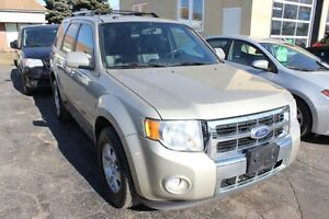 2010 Ford Escape Limited Sunroof Leather Nav