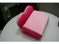 Build-a-bear heart chair bed