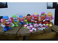 Mr & Mrs Potato Head and unor potato head for sale job lot
