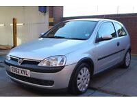 Vauxhall Corsa 1.0 i 12v Life 3dr CHEAP INSURANCE CHEAP TAX
