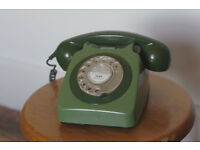 Classic GPO rotary telephone
