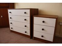 Matching Bedside Cabinet and Chest of Drawers