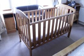 John Lewis Convertible Cotbed For Sale