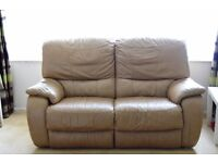 Recliner Leather Sofas for Sale ( 2+1+1) £175 ono