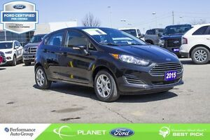 2015 Ford Fiesta SE FORD CERTIFIED LOW RATES & EXTRA WARRANTY