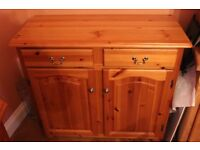 Antinque Pine Corner Unit and Sideboard