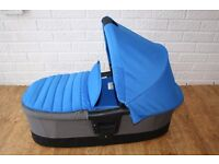 Britax Affinity Carrycot Sky Blue (also fits Oyster / Oyster2 / Oyster Max) ***can post***