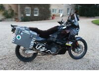 KTM 950 Adventure LC8 Special - TONNES OF EXTRAS + FULL LUGGAGE