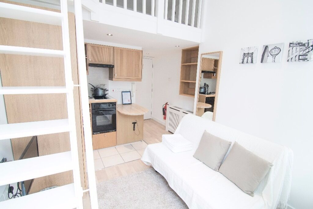 SHORT LET (Min 1 month)!!! Newly refurbished duplex studio in Central London***All bills included***