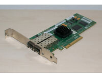 Apple Dual 4Gb PCI Express SFP Fibre Channel Card for Intel Xserve and Mac Pro - LSI7204EP