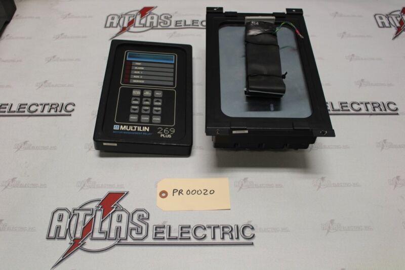 General Electric Motor Management Relay 269PLUS-W-100P-120VAC