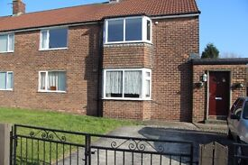 1st Floor 2 Bed Maisonette Flat to rent unfurnished in Bickershaw, Wigan, WN2.