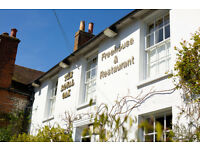 Enhance your career by working with the new Head Chef of the best Gastro Pub in Chichester