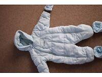 6-9 months snow suit