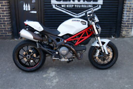 For Sale Ducati M 796 Monster 2010 White/Red (None ABS Model)