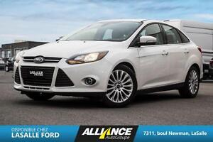 2012 Ford Focus titanium BANC CHAUFFANT-SENSOR PARKING-TOIT-BLUE
