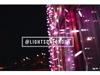 Wedding LED lighting and gates