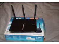 TP-Link Archer VR600 VDSL/ADSL router, high strength WiFi, WARRANTY